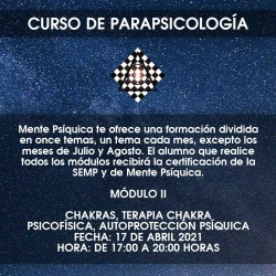 Formación de Parapsicología...