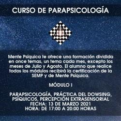 Formación de Parapsicología