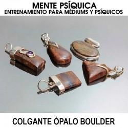 Colgante Ópalo Boulder